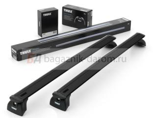 Багажник Thule WingBar Black для Fiat Idea 2004г. и по н.в. на штатные места (аэродинамическая дуга)